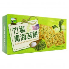 Bamboo Salt Seaweed Cracker 竹盐青海苔饼
